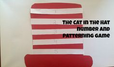 The Cat in the Hat Number & Patterning Game