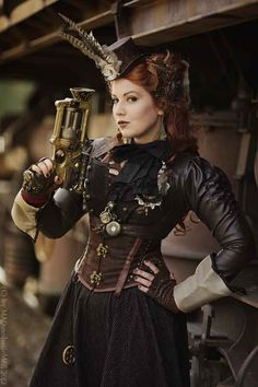 Steampunk Fashion Girl | Avon Connects: Kat's Blog: Steampunk Nails
