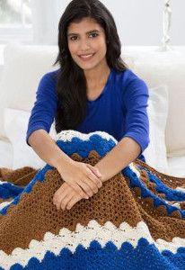 Across the Pond Crochet Pattern | AllFreeCrochetAfghanPatterns.com