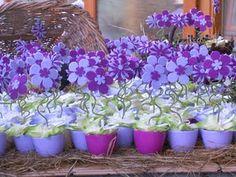 bomboniere feltro felt flower