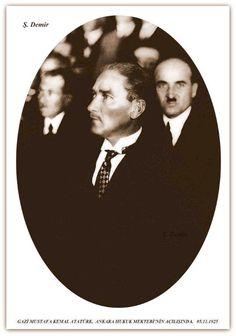 Atatürk Ankara hukuk mektebi açılışında. 05.11.1925