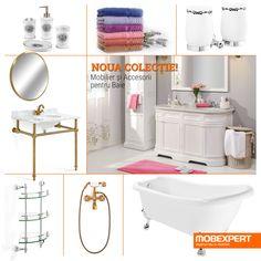 Noua colecție - mobilier și accesorii bucătărie. #mobexpert #bathroomdesign #mobilier #baie