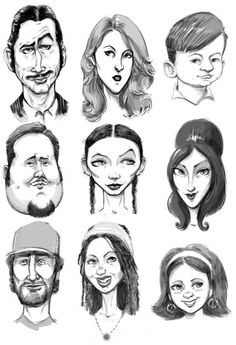Faces Sketch - 1