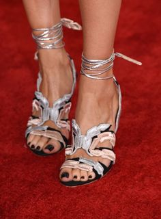 44ecaa79e8b The Celebrity Shoe Game Was Strong Tonight on the Grammys Red Carpet