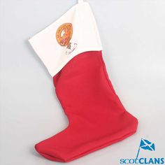 Campbell Clan Crest Christmas Stocking