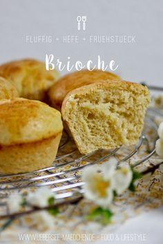 Brioche einfach selbst backen, süße Brötchen aus Hefeteig | Recipef or easy and homemade Brioche bread, sweet and baked with yeast