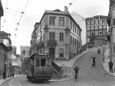 A study in street angles in the eastern part of Lisbon. Photographic Print by W. Robert Moore at AllPosters.com