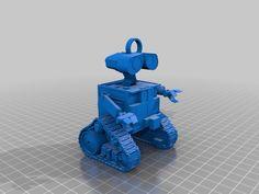 Wall-E Keychain by rasdagod.