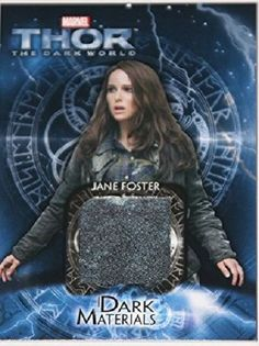 Thor 2 Dark World Materials Card #DM-3 - Natalie Portman as Jane Foster