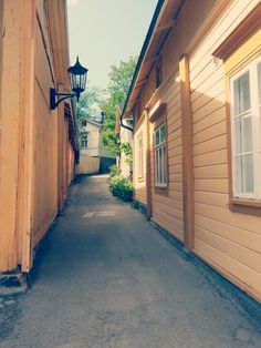 Naantali, The old town, A Path of Love - Rakkaudenpolku Finland Travel, Midnight Sun, Archipelago, Helsinki, Old Town, Old Houses, Paths, Travelling, The Neighbourhood