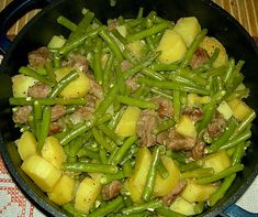 If you like lamb and green beans then this recipe Lamb Green Beans Stew is for you. The recipe comes from the German region…