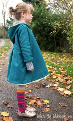 Dear My Kids, Trendy Unisex Pea Coat {Behind the Hedgerow}Frances Suzanne