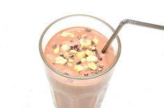 Men hva spiser du egentlig?: Sunn Snickers-shake!