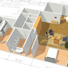Service De Plan De Maison 3D : Gratuit Et En Ligne   Homebyme