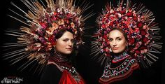 Slavic workshop Treti Pivni are making a name for themselves by photographing young and old women wearing them, in a bid to pay homage to their…
