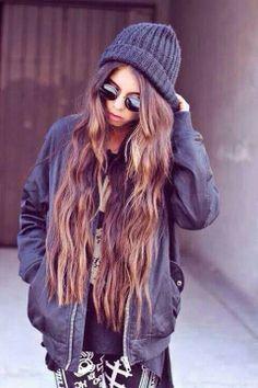 Long hair !!