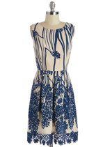 How Does Your Garden Glow? Dress   Mod Retro Vintage Dresses   ModCloth.com