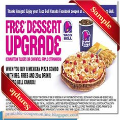 Taco Bell Coupons Ends of Coupon Promo Codes JUNE 2020 ! Satisfy your aspirations with Taco Bell when you crave the taste of the South. Taco Bell Coupons, Local Coupons, Grocery Coupons, Mcdonalds Coupons, Kfc Coupons, Pizza Coupons, Free Printable Coupons, Free Printables, Free Coupons