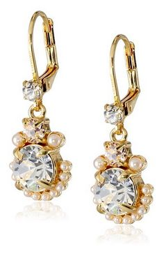 "Kate Spade New York ""Palace Gems"" Drop Earrings"