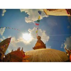 The Swayambhunath Stupa is the only temple that brings both Hindus and Buddhists together to worship.