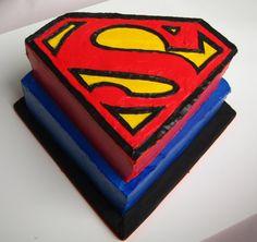 <3 SUPERMAN! *cake*