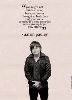 Aaron Pauley- Of mice and men