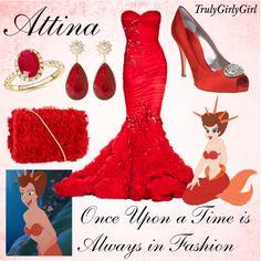 Disney Style: Attina, created by trulygirlygirl on Polyvore