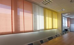 Sliding Panels are a stylish alternative to standard window treatments.