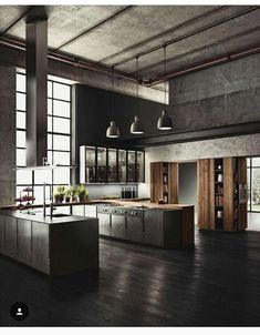 Nice 99 Stunning Luxury Black Kitchen Design Ideas. More at http://99homy.com/2018/03/22/99-stunning-luxury-black-kitchen-design-ideas/
