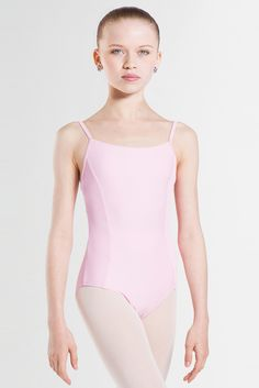 SARA - Wear Moi princess seam camisole style leotard.#wearmoi #leotard #ballet #danceuniform