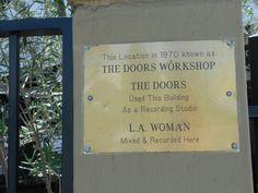 The Doors recording studio