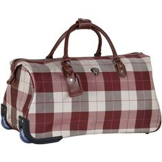 CalPak Chalet Mahogany 21inch Premium Rolling Duffel *** You can find out more details at the link of the image. (This is an affiliate link and I receive a commission for the sales)