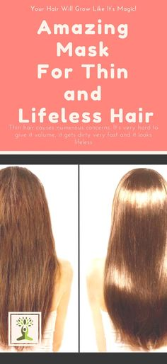 Thin hair causes numerous concerns. It's very hard to give it volume, it gets dirty very fast and it looks lifeless. Those persons who have thin hair always search for a solution and try to find the secret for a beautiful voluminous hair. After a very short time you will be pleased by incredible results! …