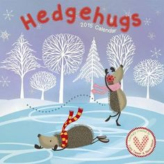 Get your very own Hedgehugs calendar and have Hedgehugs in your home every season! Buy on Amazon. Illustrations by illustrator Lucy Tapper. Illustrations from the popular children's picture book Hedgehugs written by Steve Wilson and published by Maverick Arts.