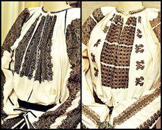 Ia Traditionala Romaneasca Folk Embroidery, Learn Embroidery, Embroidery Patterns, Folk Costume, Costumes, Folk Clothing, Embroidery Techniques, Traditional Outfits, Fashion Art