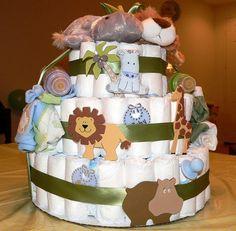 baby shower jungle animal diy - Google Search