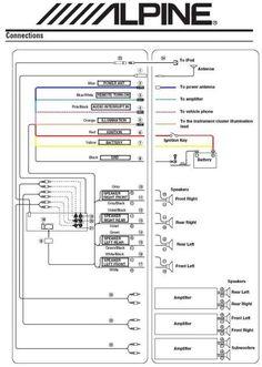 11 Best Subwoofer wiring ideas | subwoofer wiring, car stereo, car audio | Bmw Factory Alpine Amplifier Wiring Diagram |  | Pinterest
