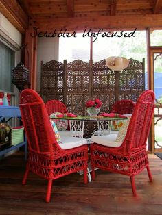 DIY home crafts DIY PAINTING THE PORCH FURNITURE  DIY home crafts