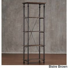 Myra II Vintage Industrial Modern Rustic Bookcase by iNSPIRE Q Classic | Overstock.com Shopping - The Best Deals on Office Storage & Organization