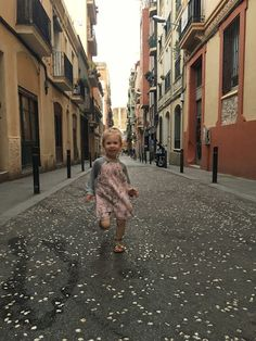 Backpacking Europe with a baby. Barcelona, Spain
