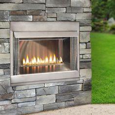 Loft Outdoor Gas Fireplace 36 Inch