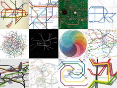 LONDON underground - to celebrate the london underground's anniversary we've collected some playful reinterpretations of harry beck's iconic map People Illustration, Graphic Illustration, Underground Map, Train Map, Map Games, Wayfinding Signage, Cartography, Drawing People, Installation Art