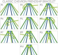 Easy to Make Friendship Bracelets