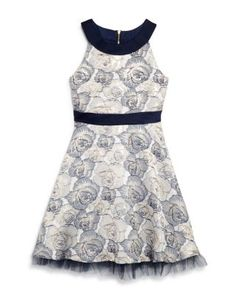 2296e17e729 US Angels Girls  Floral Brocade Dress - Big Kid Kids - Girls - Girls 7-16 -  Dresses   Rompers - Bloomingdale s