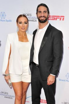 WWE wrestler Becky Lynch: When you put me and Seth Rollins in a fight you're going to get pure passion Seth Rollins Girlfriend, Seth Rollins Wallpaper, Roman Reighns, Becky Wwe, Wwe Couples, Baron Corbin, Wrestling Stars, Wwe Roman Reigns, Daniel Bryan