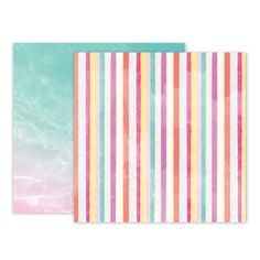 Pink Paislee - Summer Lights Collection - 12 x 12 Double Sided Paper - Paper 9