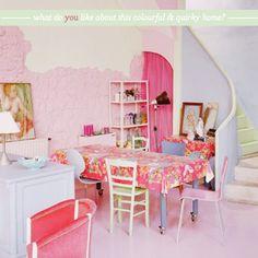 Home Tour: Colourful Converted Paris Factory