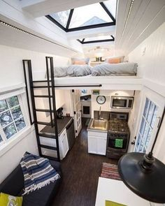 This Is A Custom Built Tiny House On Wheels That You Can Rent On Airbnb In  Draper, UT. Location: Letu0027s Get This Out In The Open Right Off The Batu2026our  Tiny ...