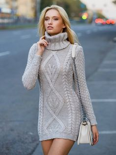Hand Knit  Women dress sweater coat aran jacket women made to order hand knitted women's dress sweater cardigan pullover clothing handmade