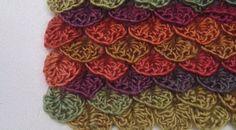 ergahandmade: How to Crochet Crocodile Stitch + Video Tutorial